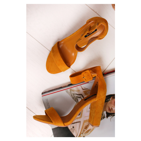 Žlté sandále Eleanora Bestelle