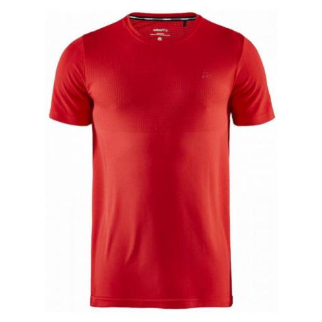 Craft FUSEKNIT LIGHT SS červená - Pánske funkčné tričko