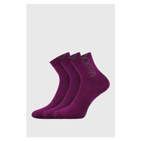 3 PACK dievčenských ponožiek Adventurik ružová Boma