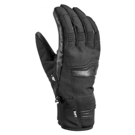 Leki CERRO S čierna - Unisexové lyžařské rukavice