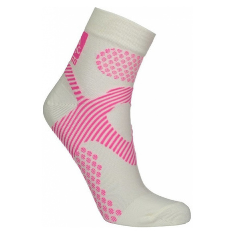 Kompresný merino ponožky NORDBLANC Fervour NBSX16377_BLA