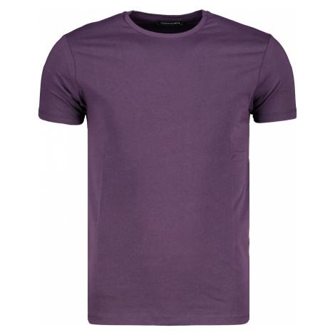 Tričko pánske Trendyol Basic Purple
