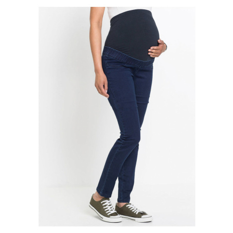 Tehotenské džínsové legíny bonprix