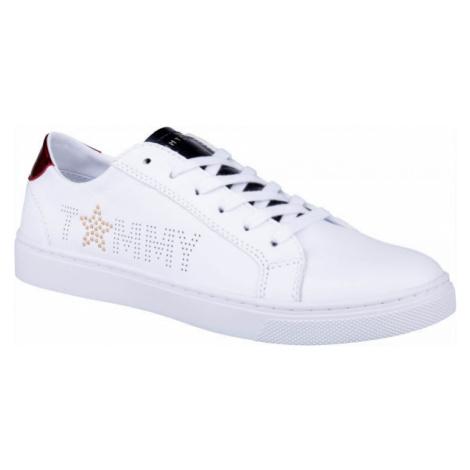 Tommy Hilfiger STAR METALLIC SNEAKER biela - Dámske tenisky