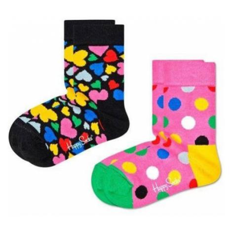 Happy Socks 2-pak Heart KHEA02 9300