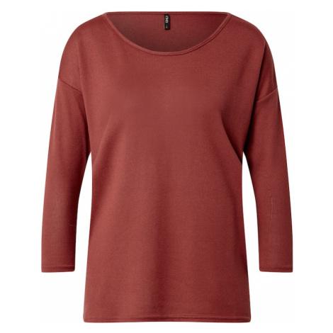 ONLY Tričko 'ELCOS'  hrdzavo červená