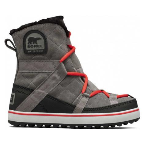 Sorel GLACY EXPLORER SHORTIE sivá - Dámska zimná obuv