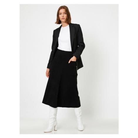 Koton Pocket Midi Skirt