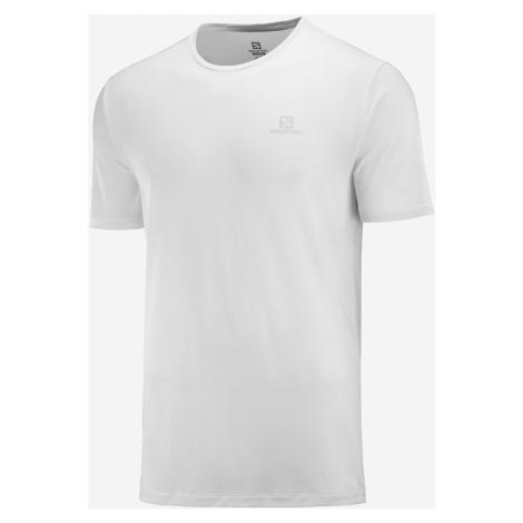 Pánske tričko Salomon Agile training Tee biele