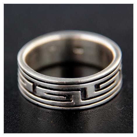 Strieborný prsteň 14748