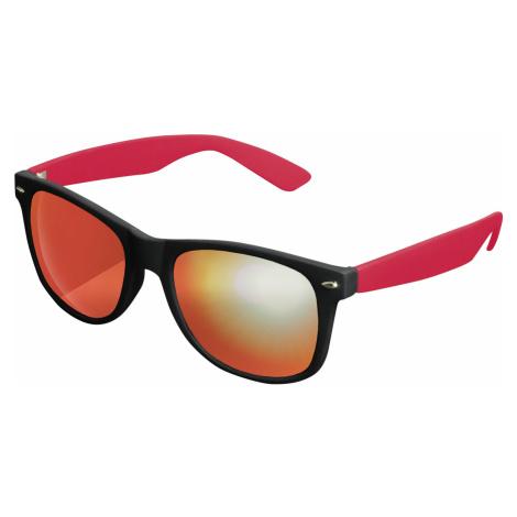 Unisex slnečné okuliare MSTRDS Sunglasses Likoma Mirror blk/red/red Pohlavie: pánske,dámske