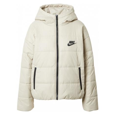 Nike Sportswear Zimná bunda  svetlosivá