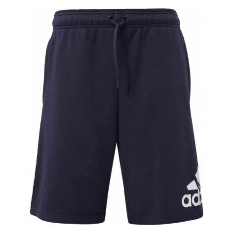 ADIDAS PERFORMANCE Športové nohavice  tmavomodrá / biela