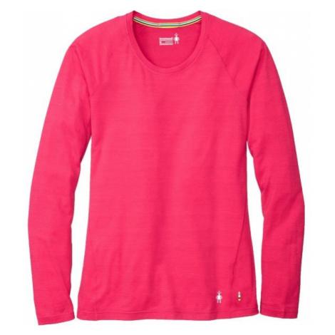 Smartwool MERINO 150 BASE PAT W ružová - Dámske tričko
