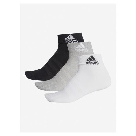 Ponožky adidas Performance Light Ank 3Pp Farebná