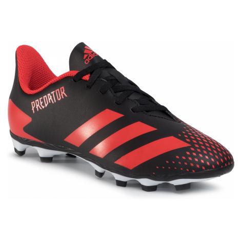 Topánky adidas - Predator 20.4 Fxg J EF1931 Cblack/Actred/Cblack