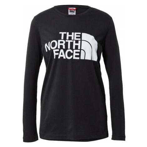 THE NORTH FACE Funkčné tričko  čierna / biela
