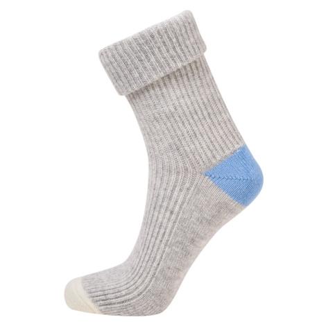 Ponožky Camel Active Camel Women Bootsocks Cosy Light Grey Mel 35-38