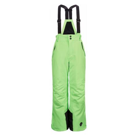 KILLTEC Outdoorové nohavice 'Gauror'  neónovo zelená / čierna