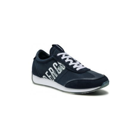 Bikkembergs Sneakersy Jonas B4BKM0174 Tmavomodrá
