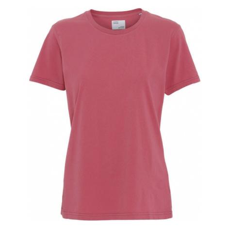 Colorful Standard Women Light Organic tee-L ružové CS2051-RP-L