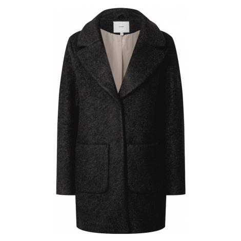 ICHI Prechodný kabát  čierna