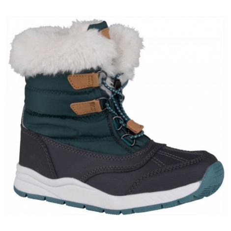 ALPINE PRO TEUTO - Dievčenská zimná obuv