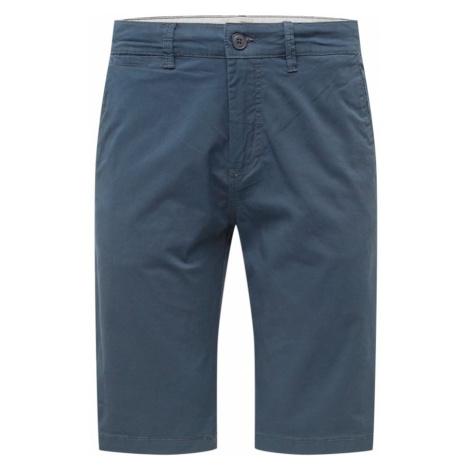 !Solid Chino nohavice 'Povl'  tmavomodrá