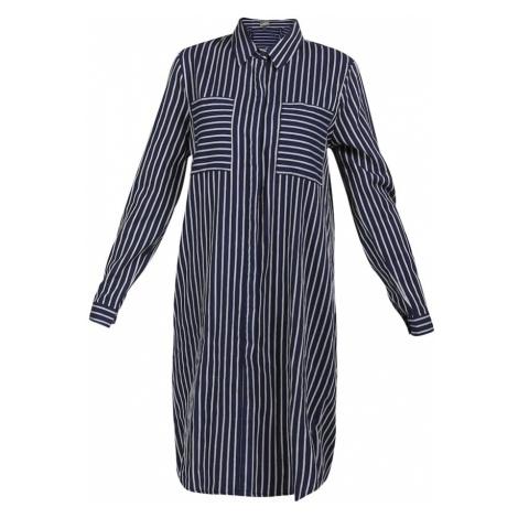 DreiMaster Vintage Košeľové šaty  námornícka modrá / biela