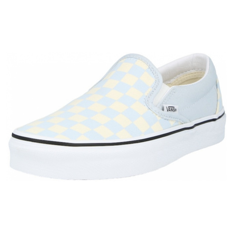 VANS Slip-on obuv 'UA Classic'  pastelovo žltá / svetlomodrá