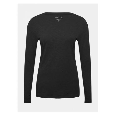 Čierne basic tričko M&Co