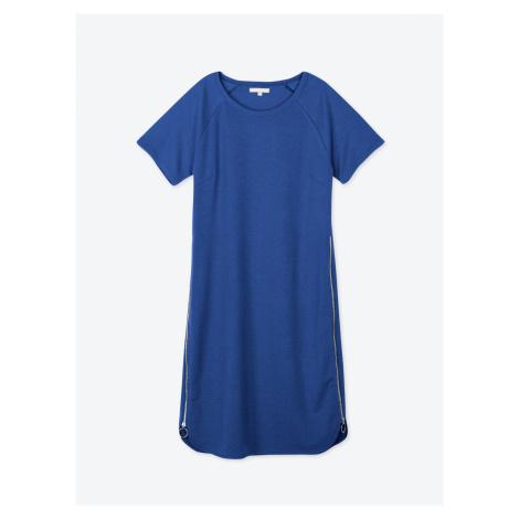 GATE Tričkové šaty so zipsami