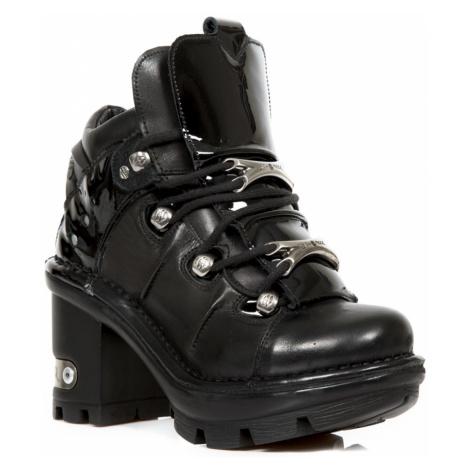 topánky na podpätku NEW ROCK ITALI NEGRO viacfarebná
