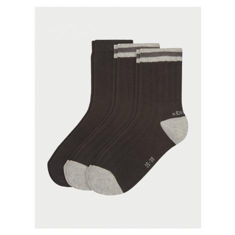 Ponožky s.Oliver S20549-9999 - 3 Pack Farebná