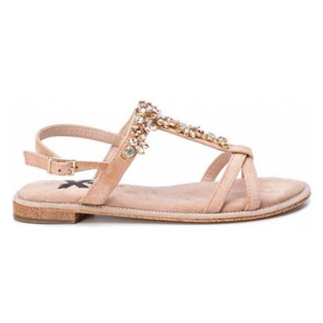 XTi Dámske sandále Nude Microfiber Ladies Sandals Nude