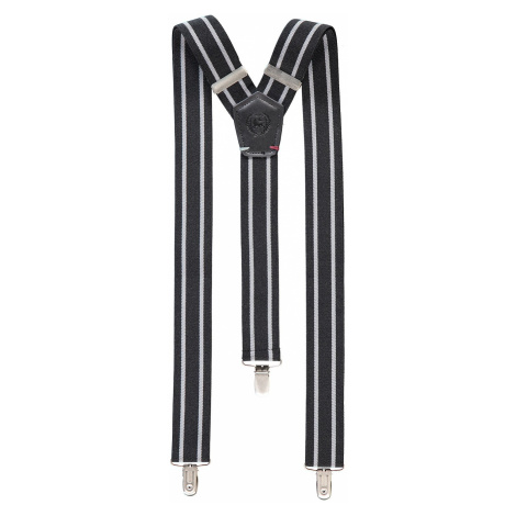 Pánske trendy traky (traky) Lerros Artur-čierna-biela