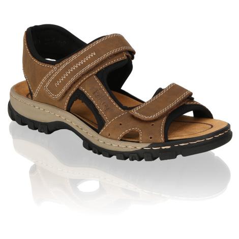Rieker Klasické sandále hnedá