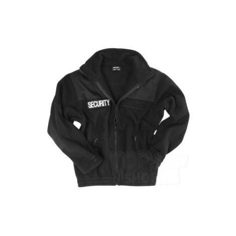 SECURITY fleecová bunda Mil-Tec® - čierna