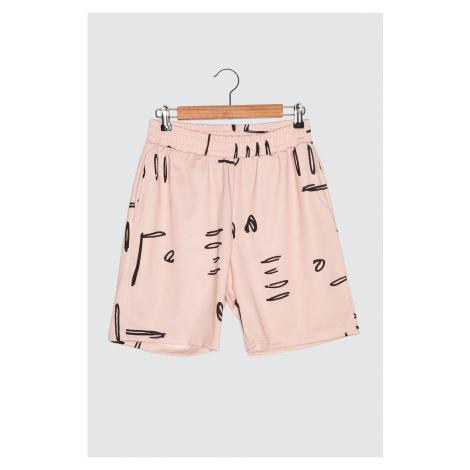 Trendyol Dried Rose Unisex Shorts & Bermuda