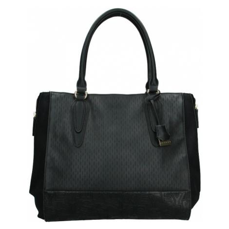 Dámska kabelka Sisley Evas - čierna