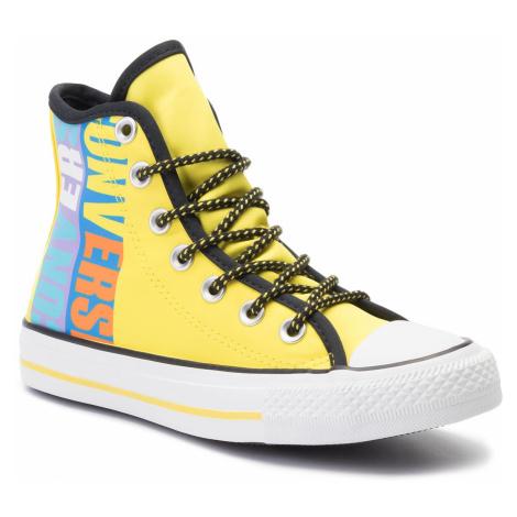 Tramky CONVERSE - Ctas Hi 164092C  Fresh Yellow/Black/White