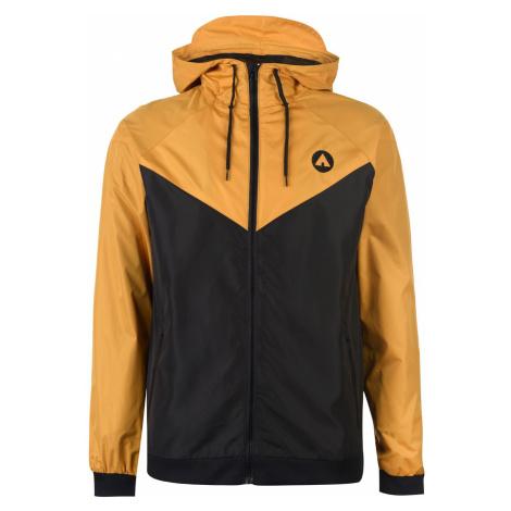 Airwalk Windbreak Jacket Mens Black/Gold