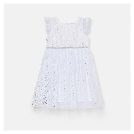 Sinsay - Šaty s potlačou - Krémová
