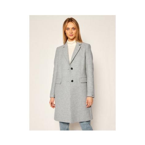 TOMMY HILFIGER Prechodný kabát Blend Classic WW0WW28619 Sivá Regular Fit