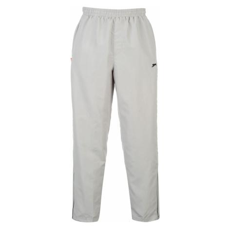 Slazenger Open Hem Woven Sweatpants pánske Silver