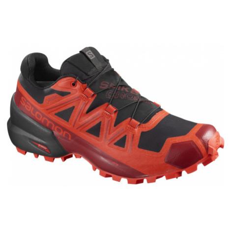 Pánske Bežecké Topánky Salomon Spikecross 5 Gtx Čierno-Červené