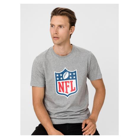NFL Team Logo Triko New Era Šedá