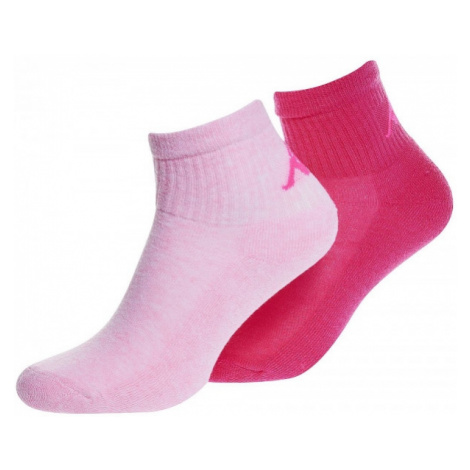 Kappa LOGO ARRAZ 2PACK NEO ružová - Dámske ponožky