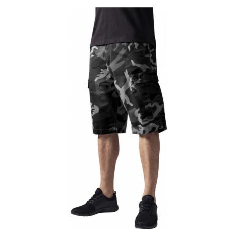 Urban Classics Camouflage Cargo Shorts urban camo - Veľkosť:40
