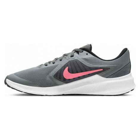 NIKE Športová obuv 'Downshifter 10'  sivá / čierna / ružová